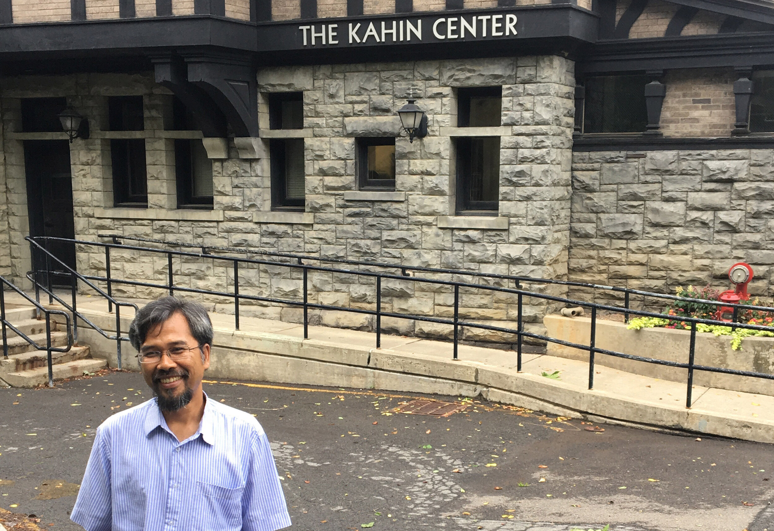 Dr. Achmad Munjid visiting the Kahin Center for Advanced Research on Southeast Asian Studies - and home of the AIFIS office in America - on the Cornell University campus.