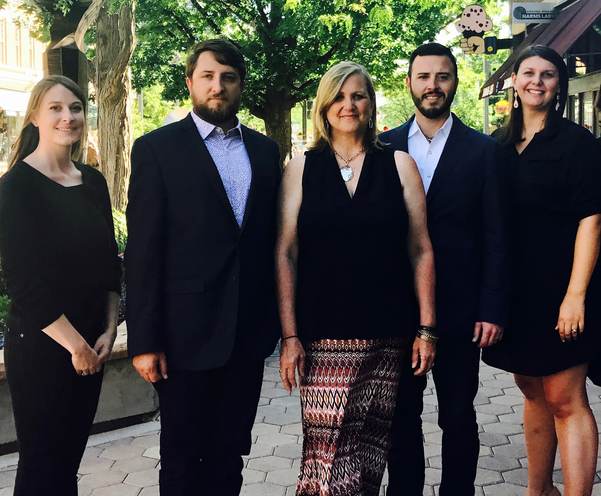 Meet the Team: Allison Callahan - Mary Ann's assistant, Colin Glover - The Group Realtor, Mary Ann Michels - The Group Realtor, James W. Mitchell - The Group Realtor, Jessie Ferguson - James and Coliins' assistant