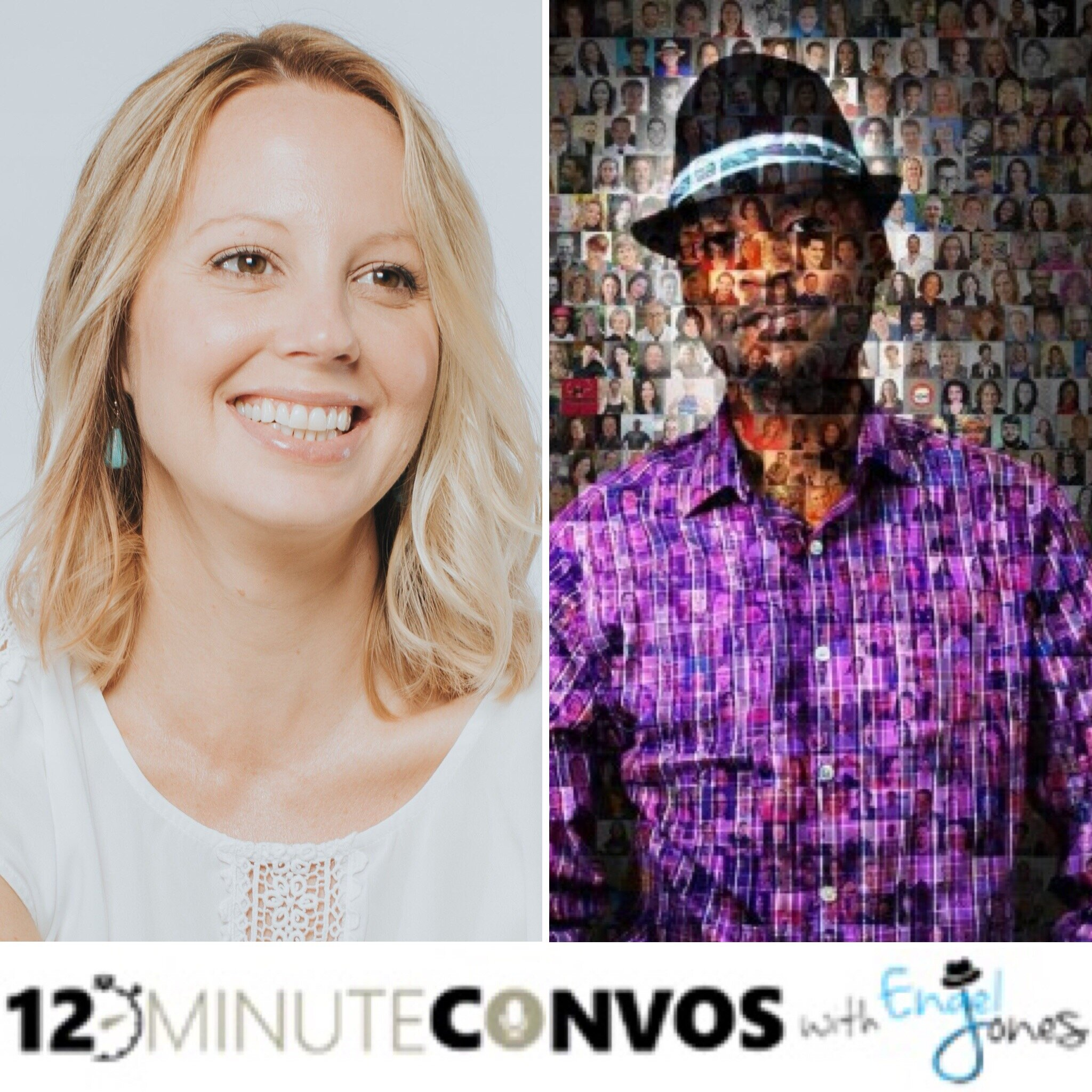 12 Minute Convos Podcast   Engel Jones knows how to host a fun, short and insightful podcast. I was lucky enough to join him and his Carribean mellowness in the Spring of 2019.