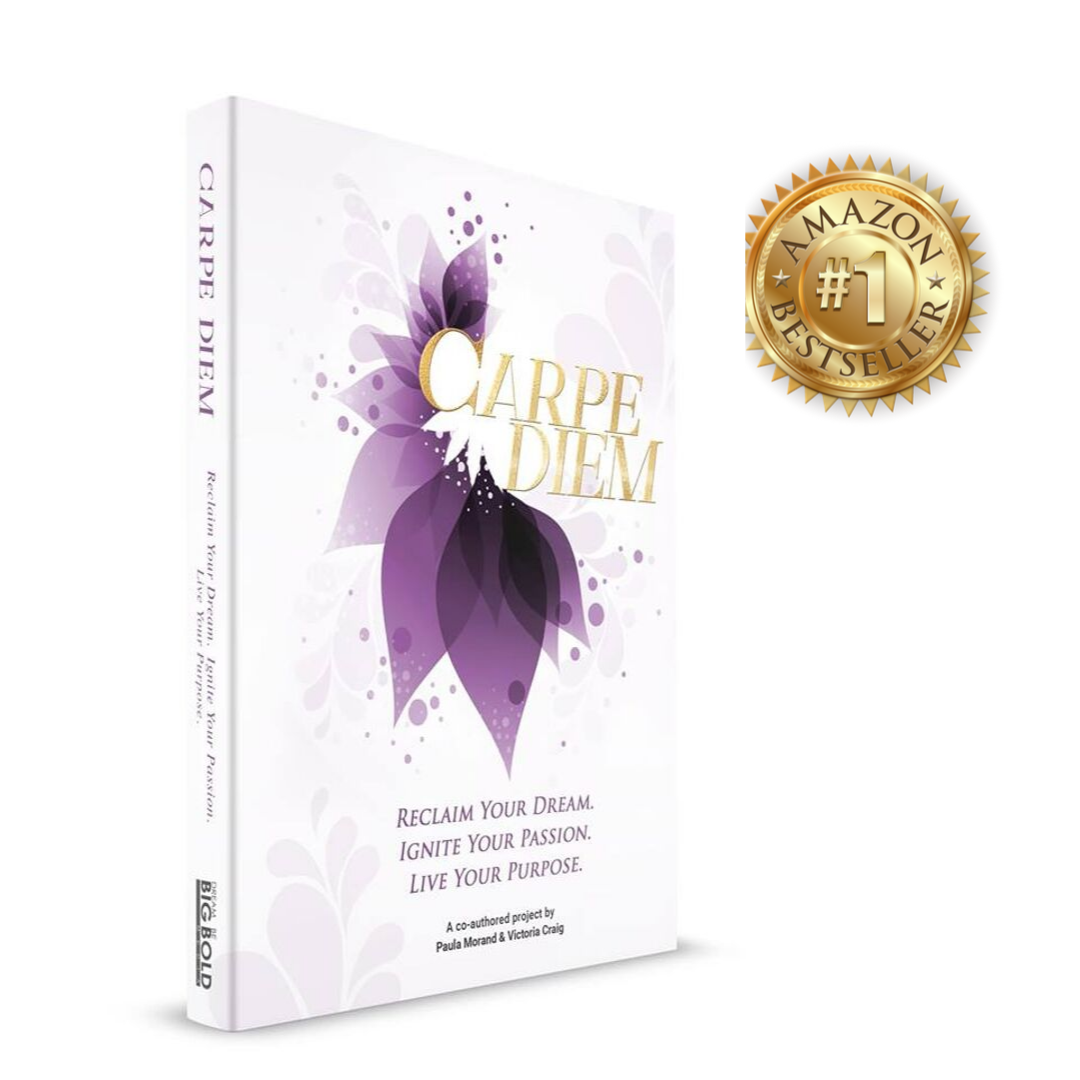 Carpe Diem is an inspiring collection,  featuring 24 authors from around the globe who identified opportunity and found their purpose.