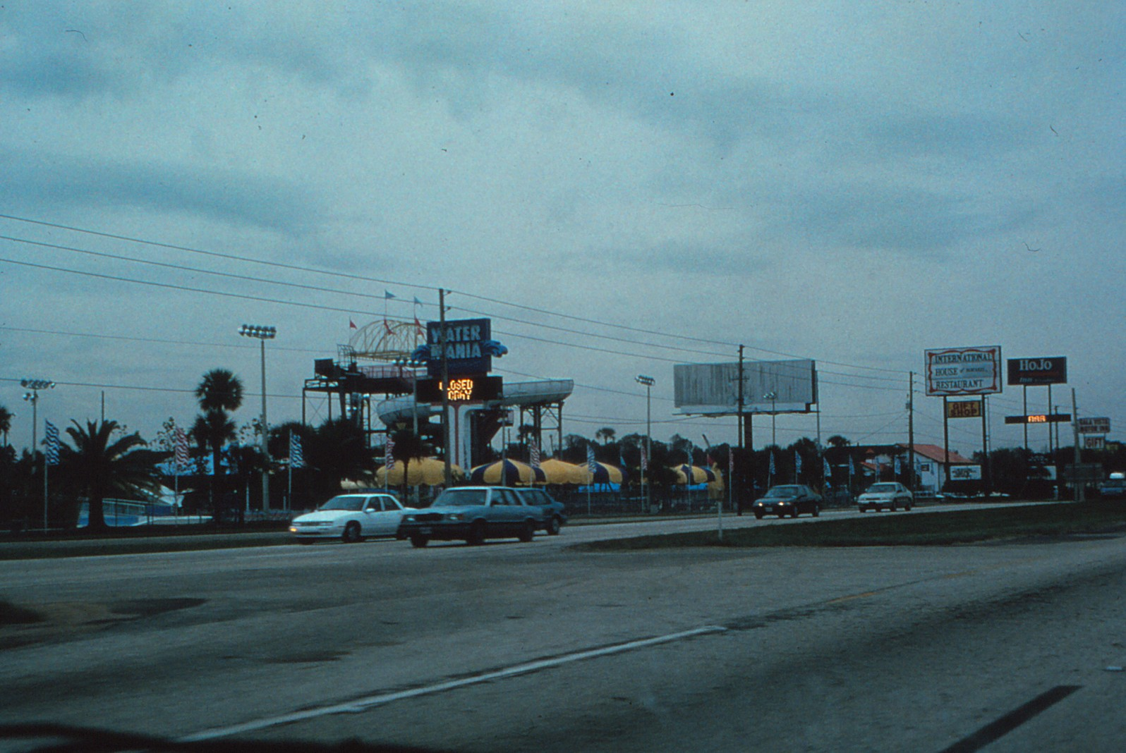 Route 192 - right outside of Celebration prior to the start of development.