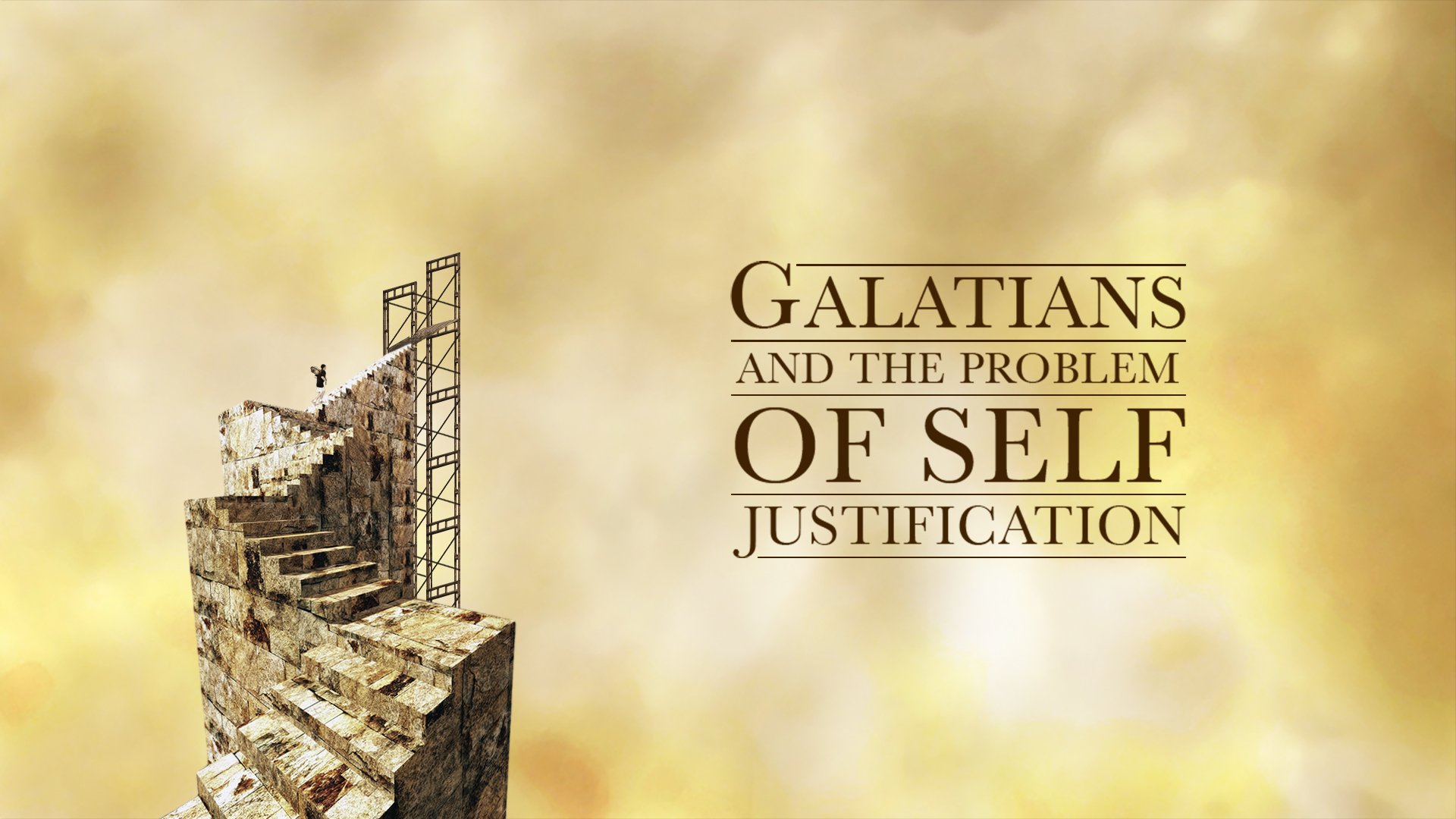 Clarus 08 – Galatians and the Problem of Self Justification