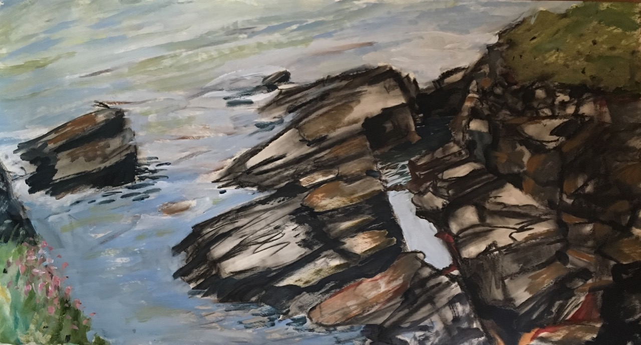 Scotland: Collieston Coastal Walk, Mirror Pool