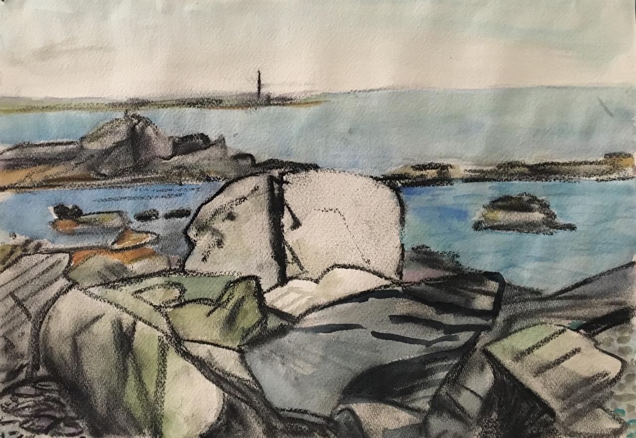 Rhode Island Sakonnet River Rocks