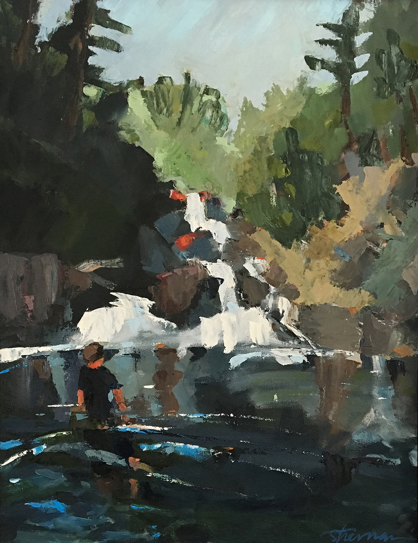 Split Rock Falls, Afternoon