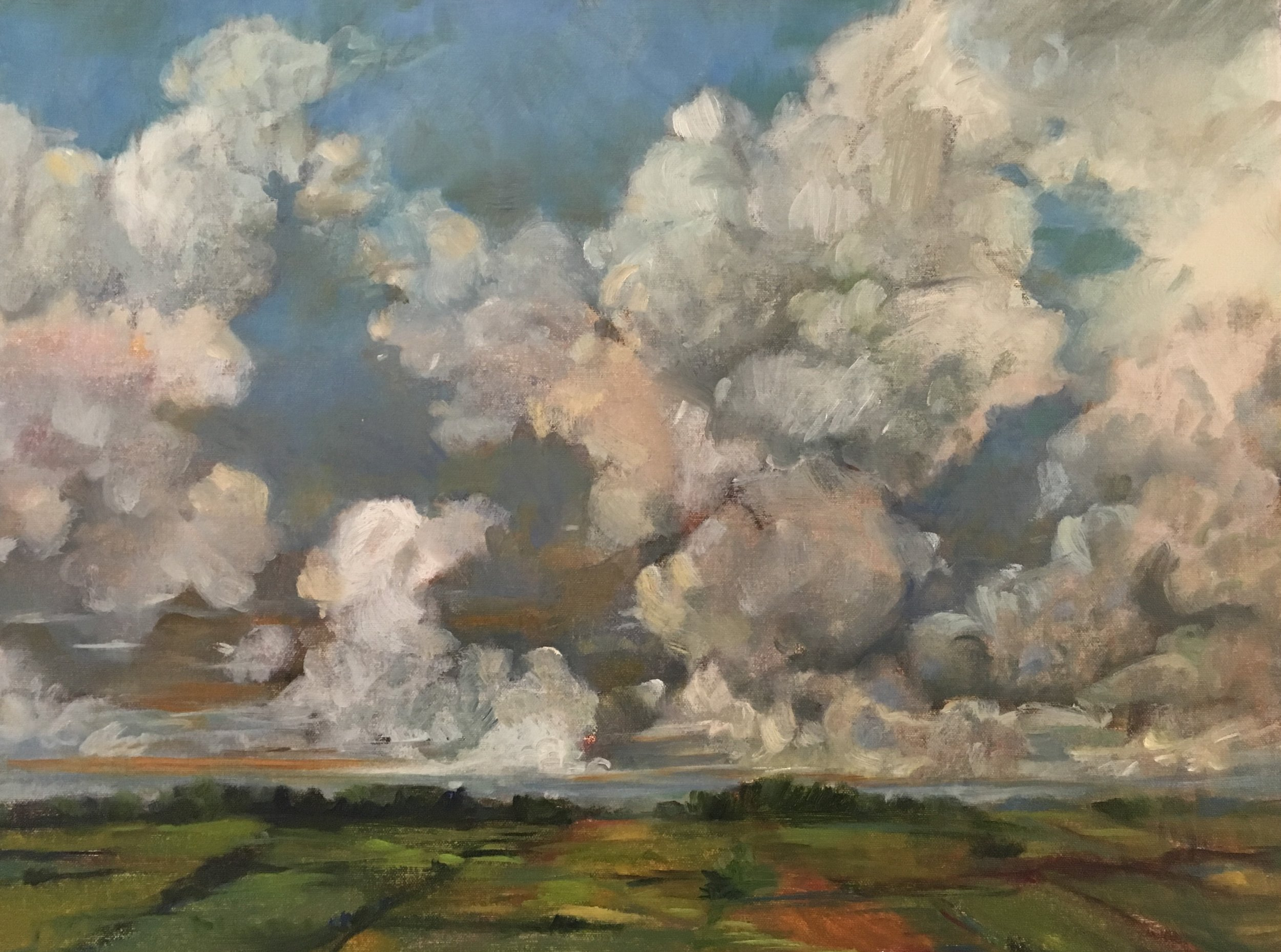 Cumulus Medius Over Fields
