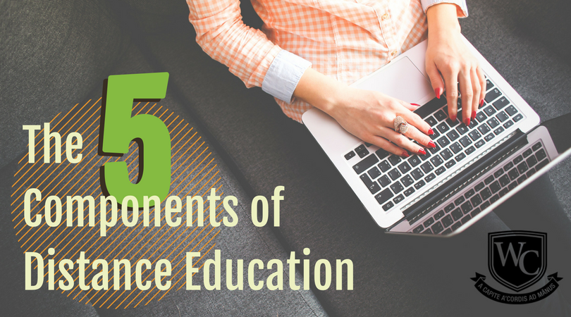 The 5 Components of Distance Education (1).png