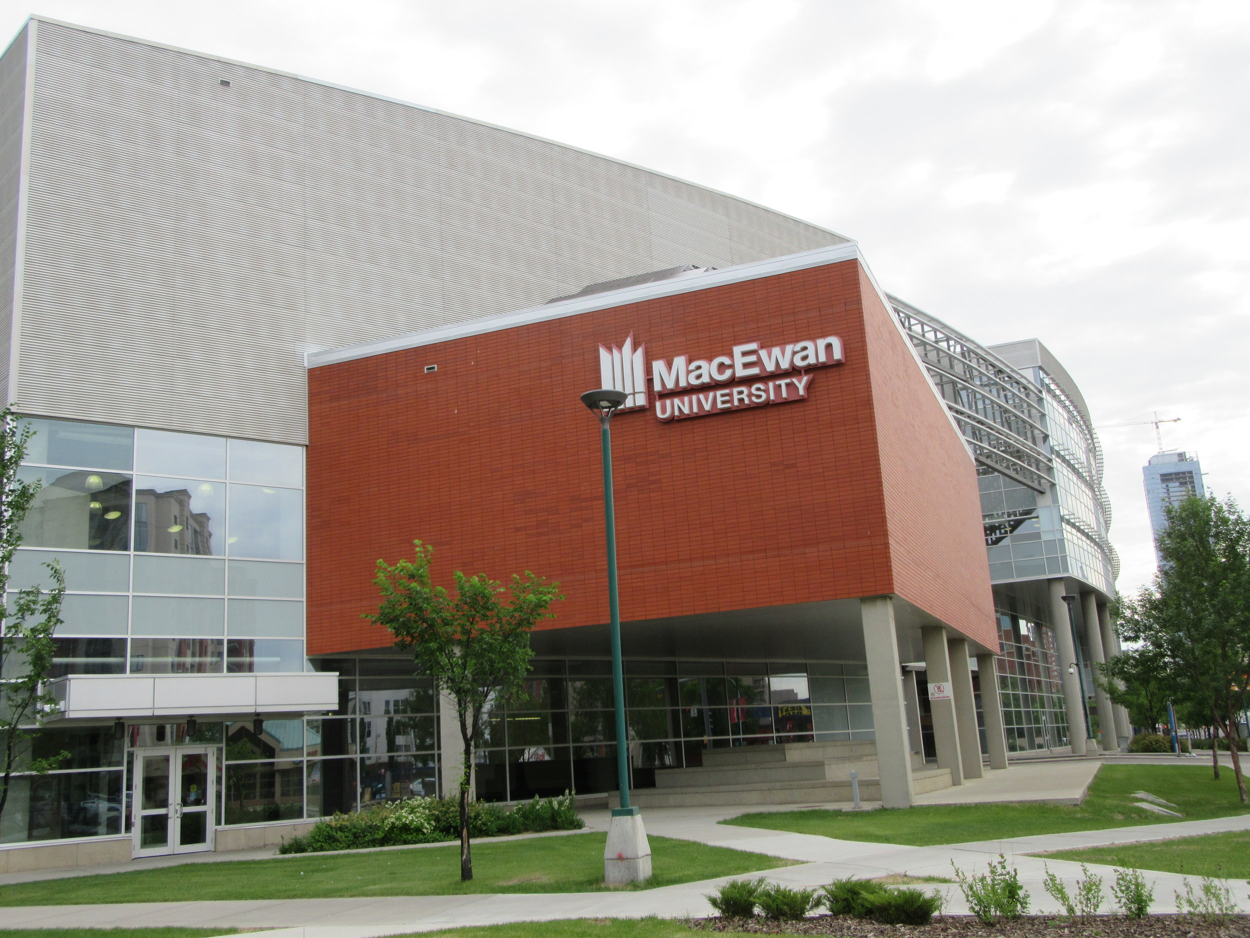 Entrance to MacEwan University, the host of the 2018 CCMTS AGM and Conference.