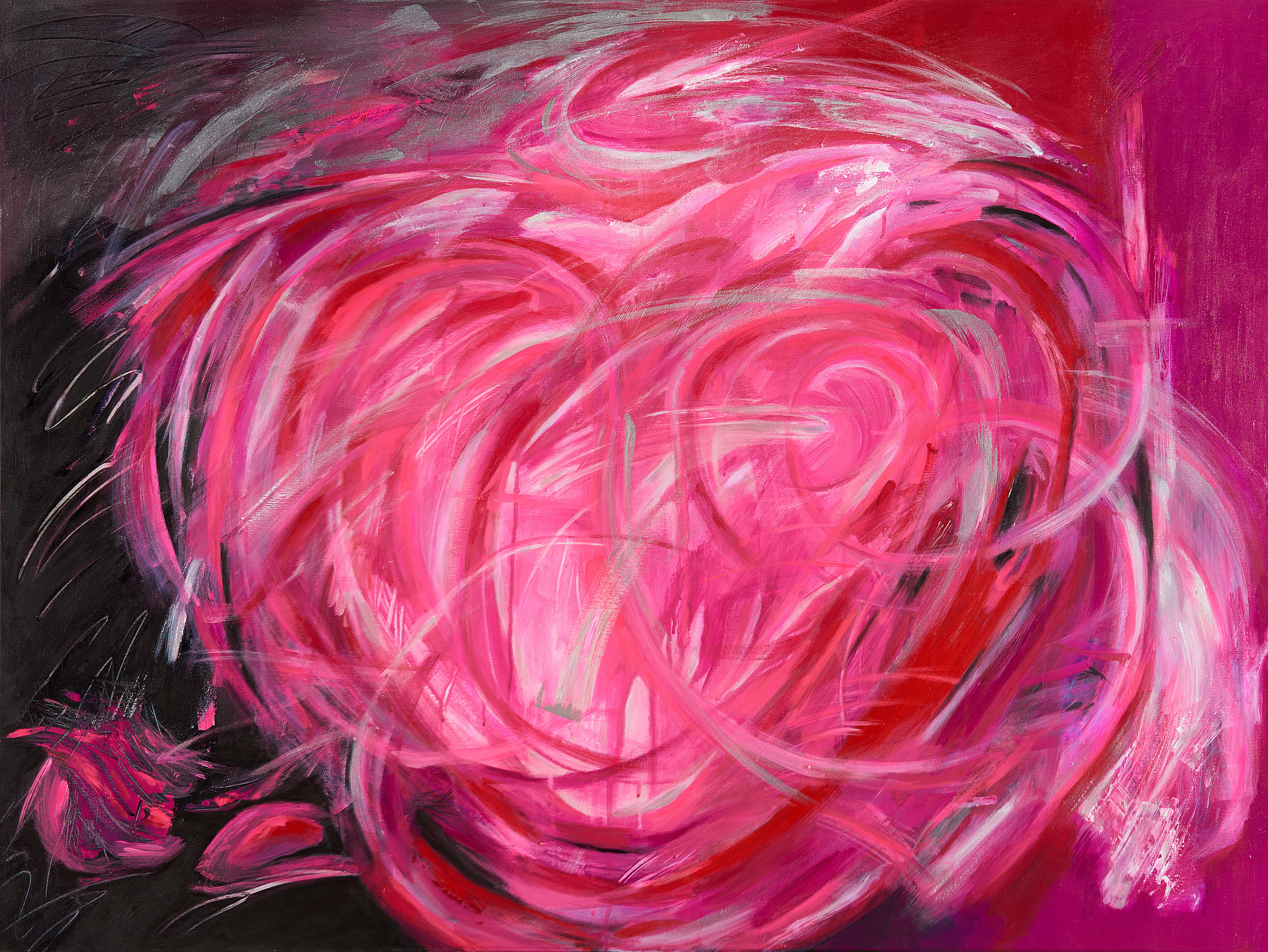Bold as Love, 36 x 48""