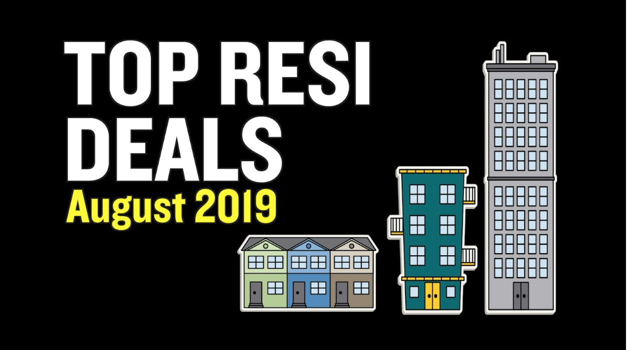 Top Resi Deals for August