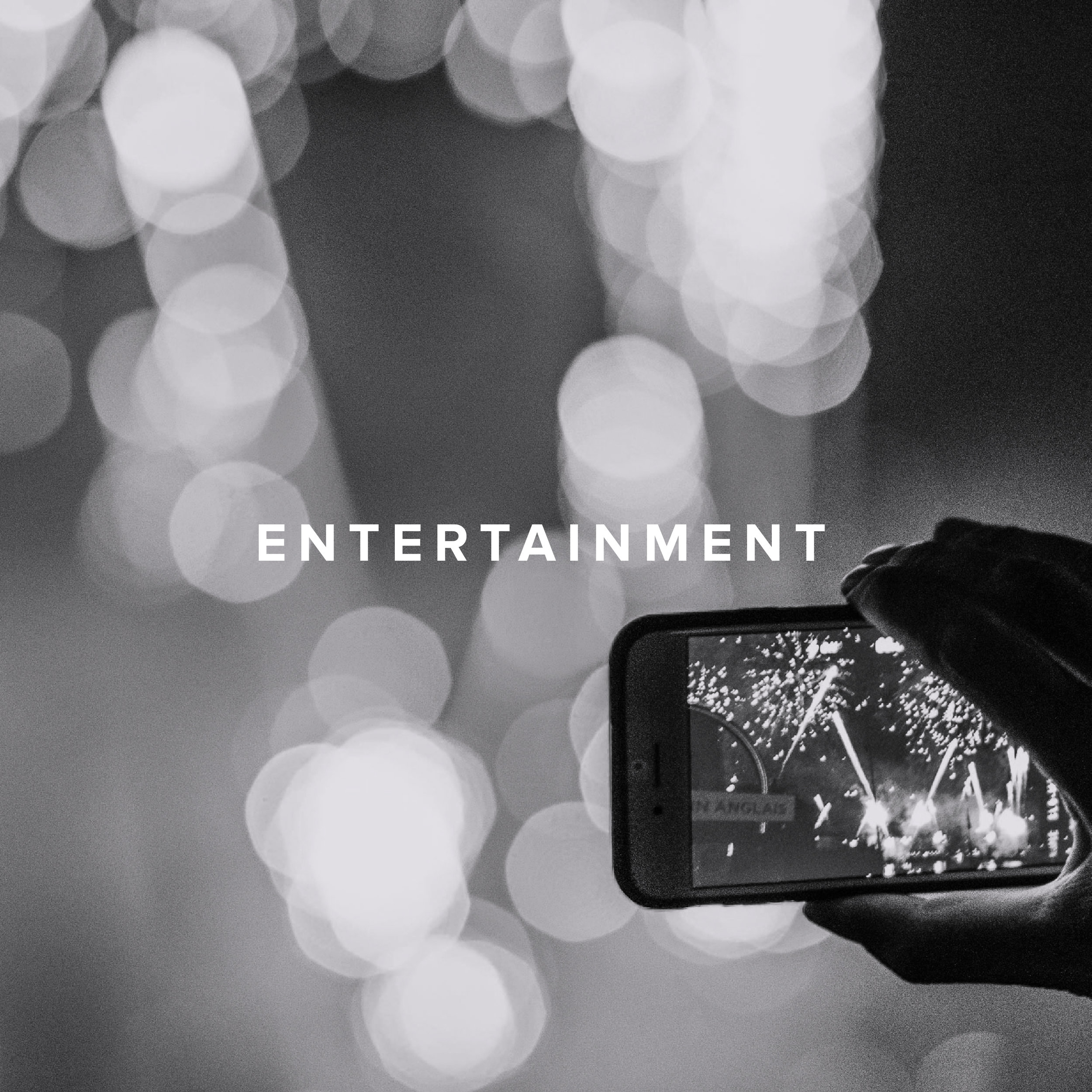 Lights, Camera, Action! We're from LA. Entertainment flows in our DNA.