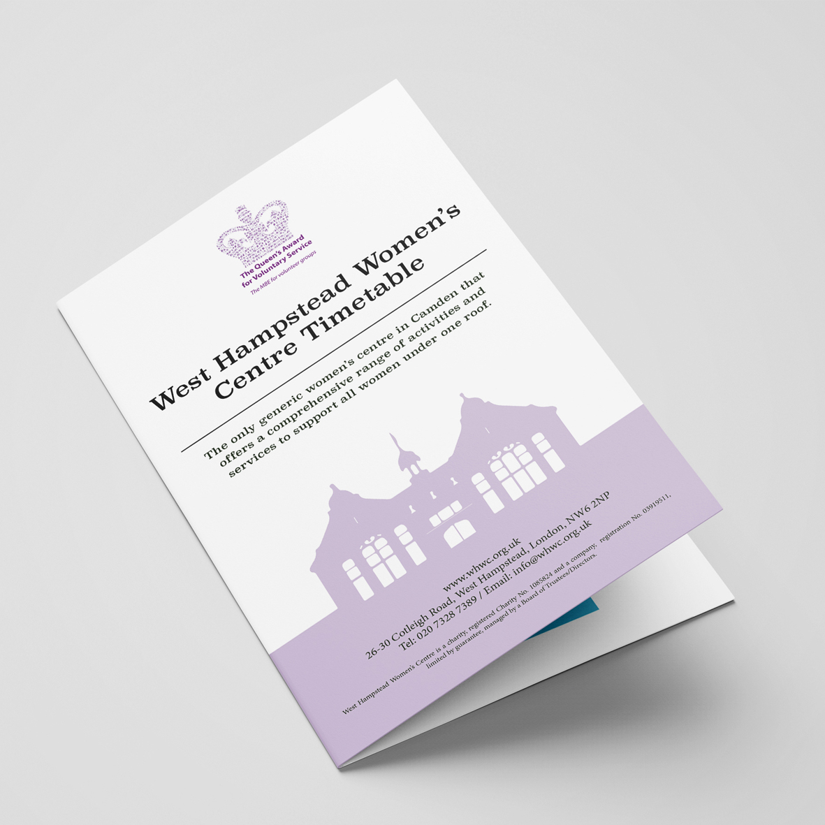West Hampstead Women's Centre visual identity