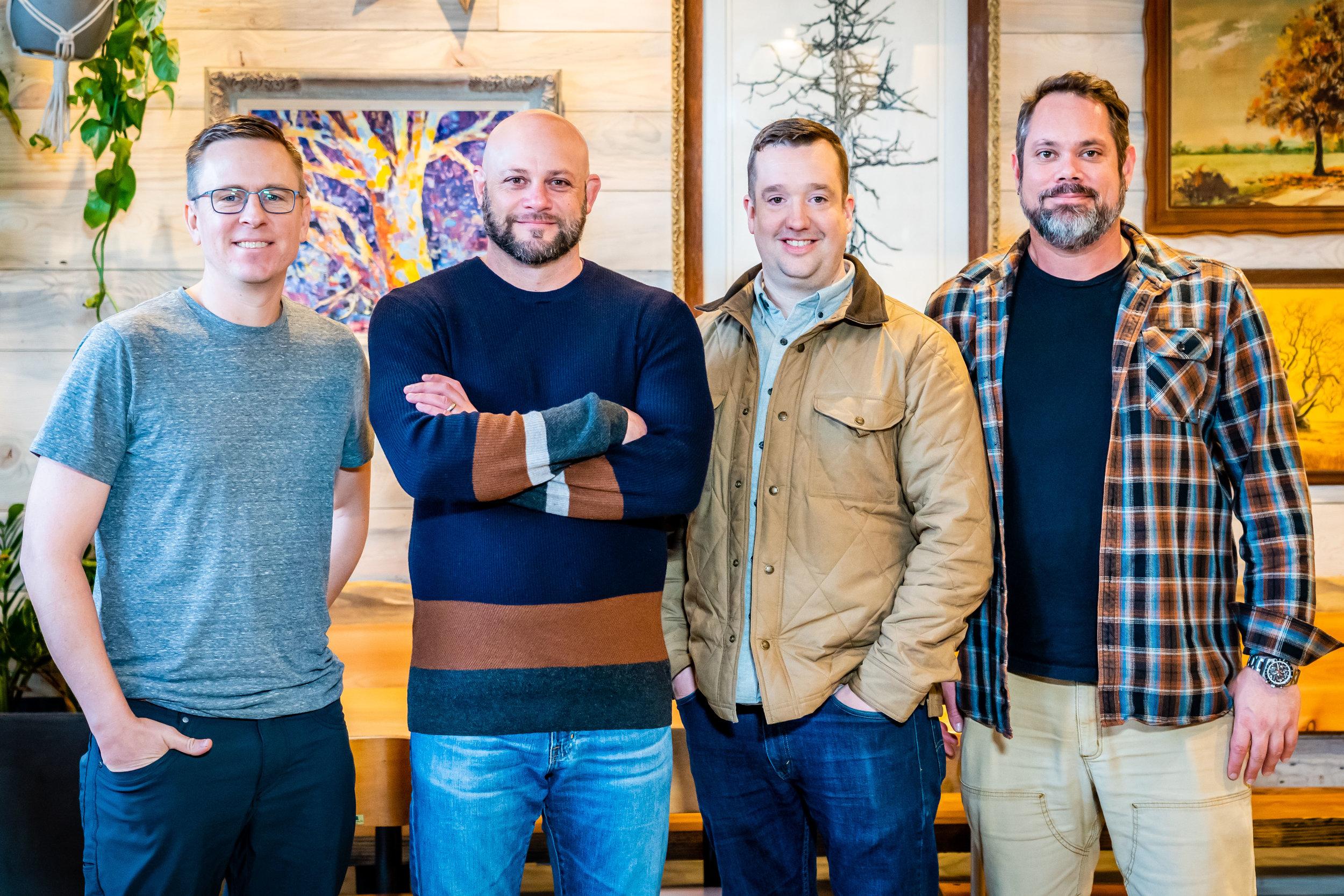 (Left to Right) David Kreifels, Jason Owens, Benjamin Bettinger, Ben Dyer