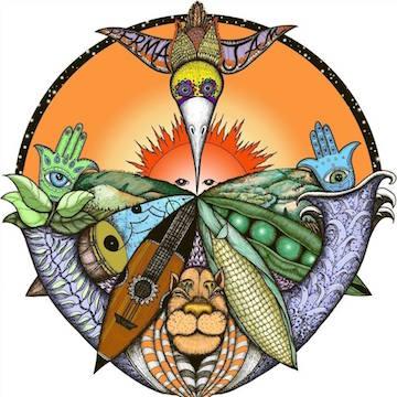 PermaJam Mandala Artwork by:  Amanda Parry Oglesbee