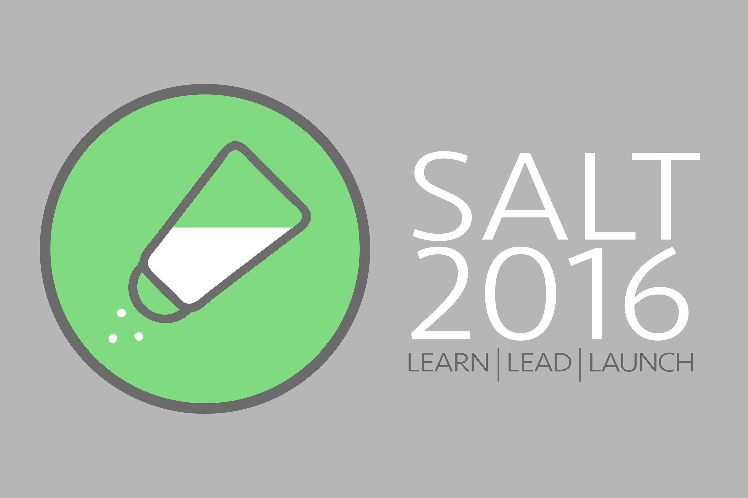 SALT 2016 Flyer