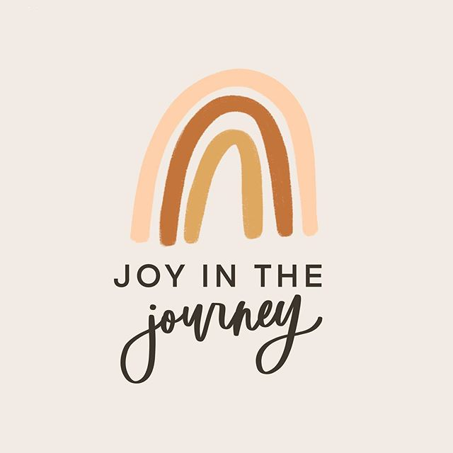 Sometimes we just need this reminder. ✨ there is joy in the journey... be present.