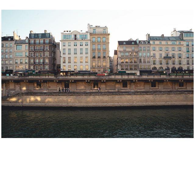 That Parisian sun 🌞  #paris #seineriver