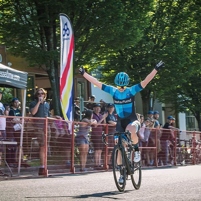 #tbt and a #shoutout to @hlgill the BC Provincial Crit Champion! A true DRKHORSE!⁠ ⁠ #Proudcoach of an athlete with loads of #grit #determination #power and a #bigheart
