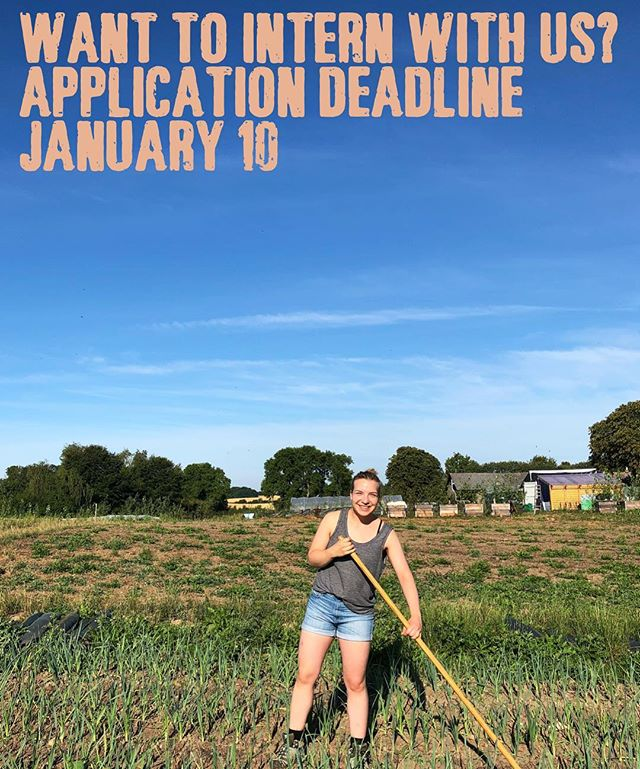 We have already received an overwhelming amount of applications for our 2019 internship program, our positions are filling fast. Be sure to get your application in by January 10! Internships last 1-3 months.