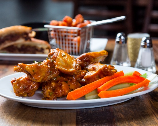 Every Tuesday, join us for 1/2 price Bone-In or Boneless Wings ALL DAY!