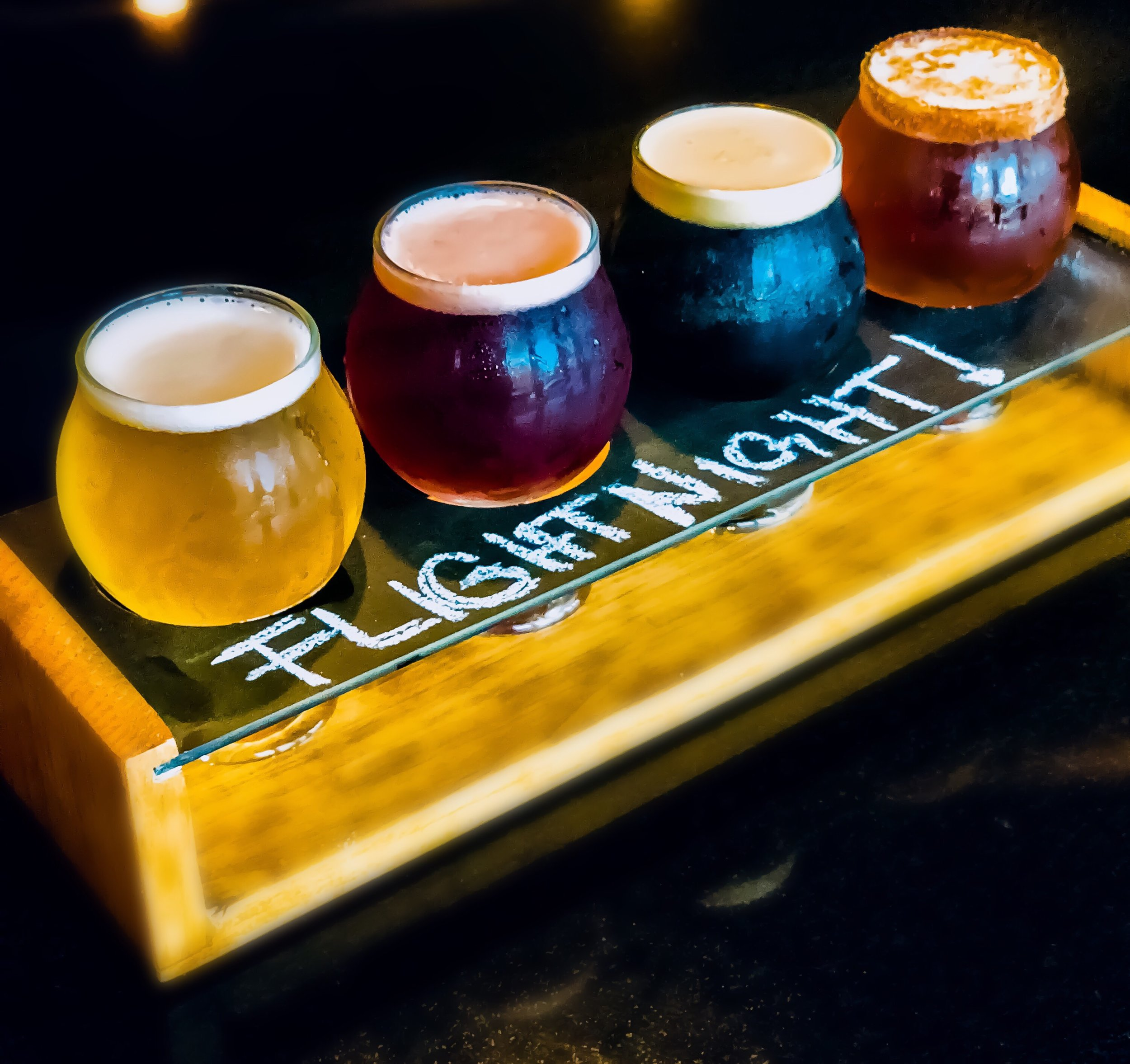 Every Wednesday, join us for $2 off Beer Flights, Build Your Own or Choose From The Villagers Flight List!