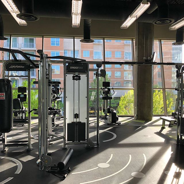 1 bedrooms starting at $1700. I know it's pricey but check this gym out. These are very much luxury high rises with a great view of downtown. And don't worry- we have great specials on much more affordable apartments