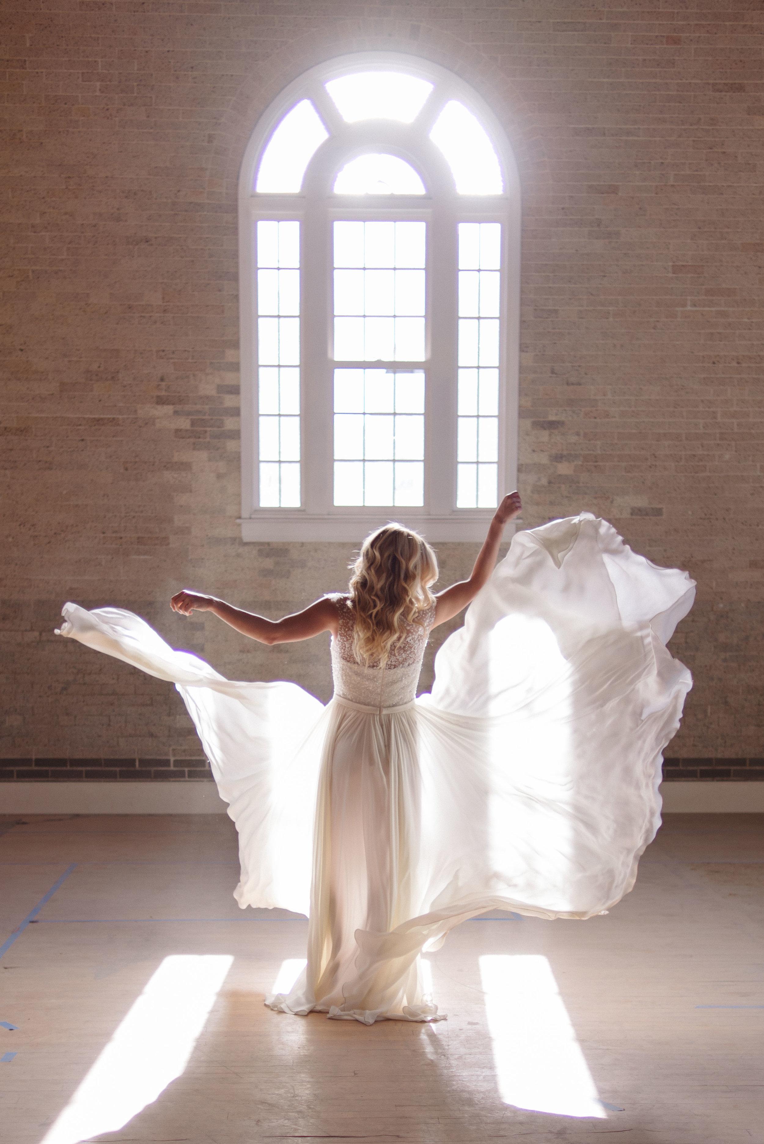 Campaign: Little White Dress - Denver, Colorado