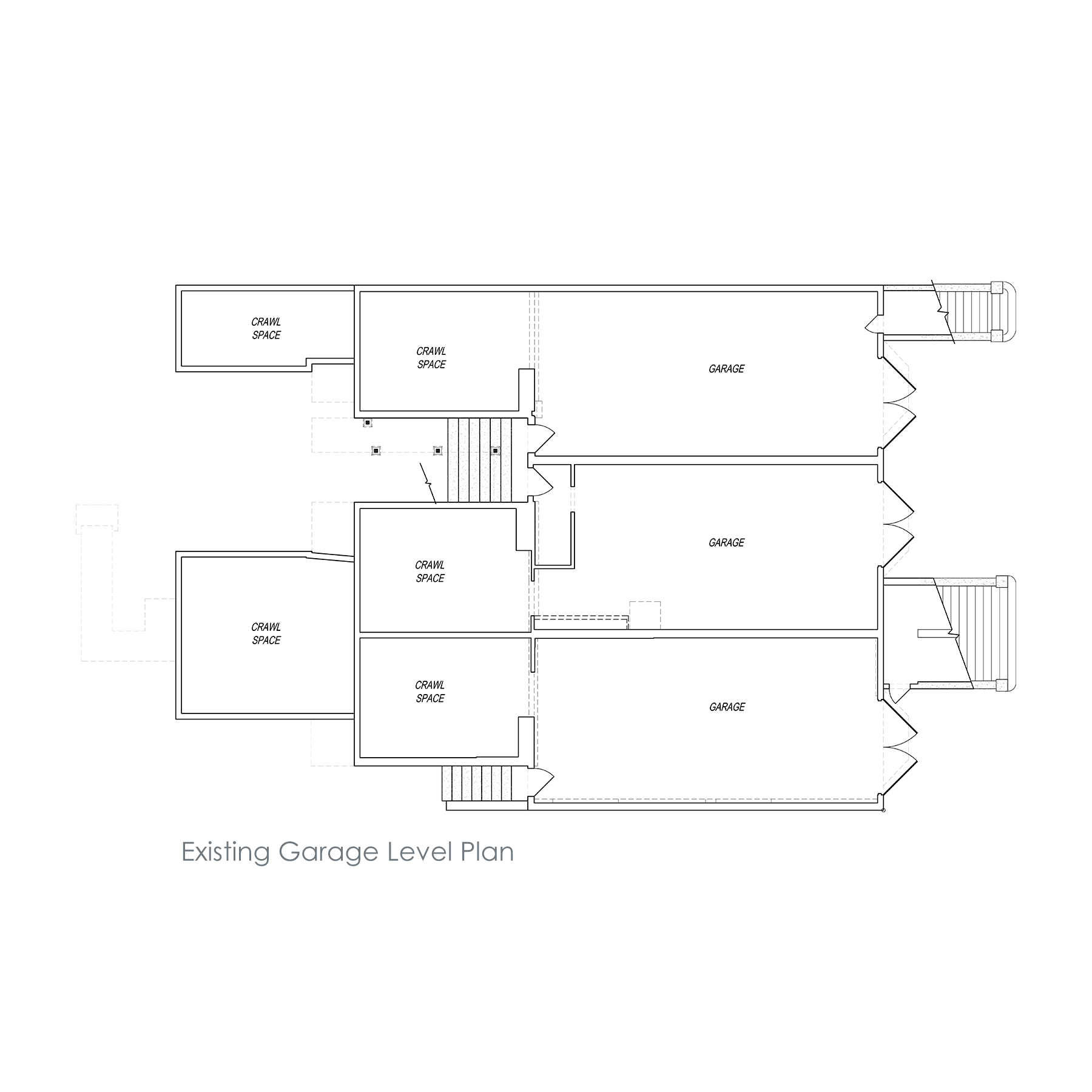 Alamo Square ADU - Existing Plan