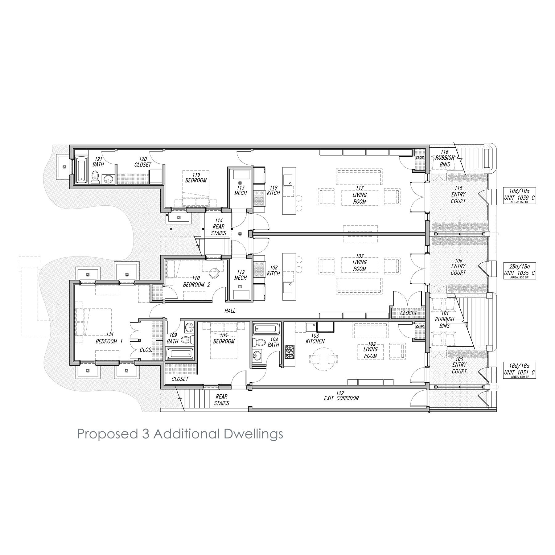 Alamo Square ADU - Proposed Plan