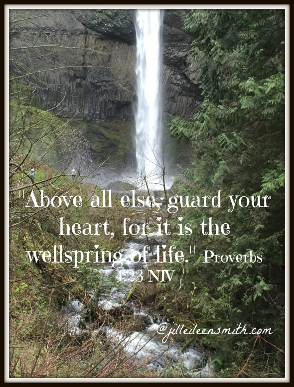 Guard Heart verse and pic