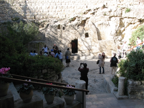Empty Tomb from distance