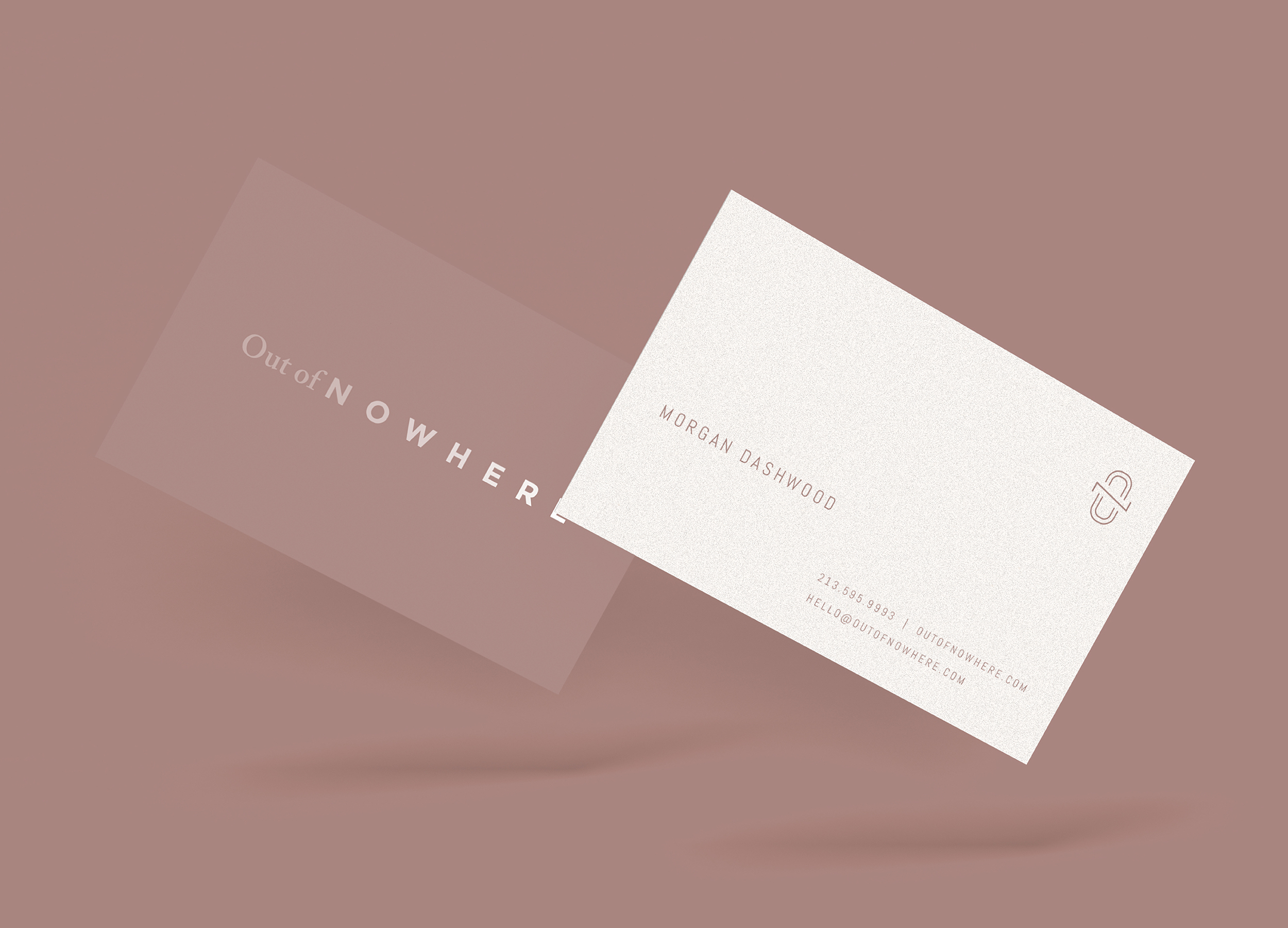 CANOPY_Out of Nowhere_Business Cards