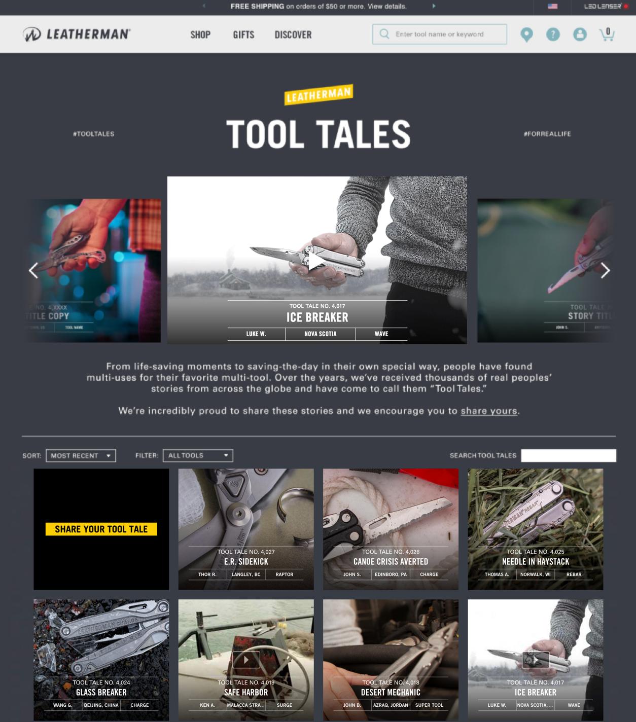 Tool Tales Gallery