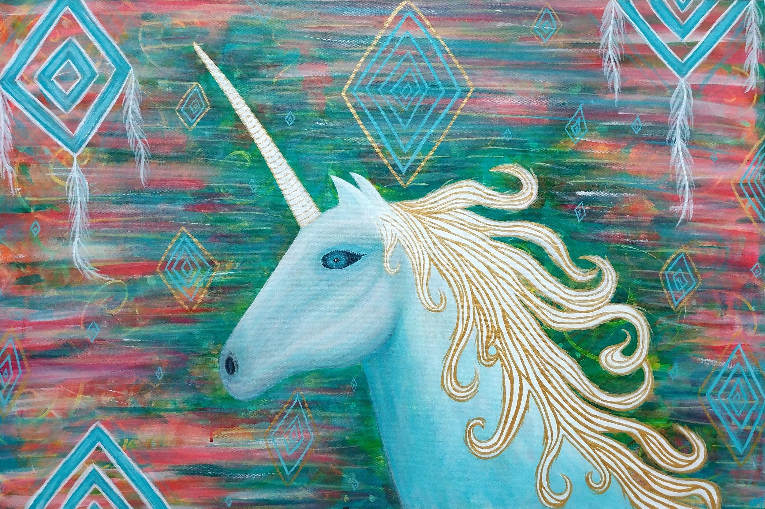 """""""Confident Unicorn"""""""