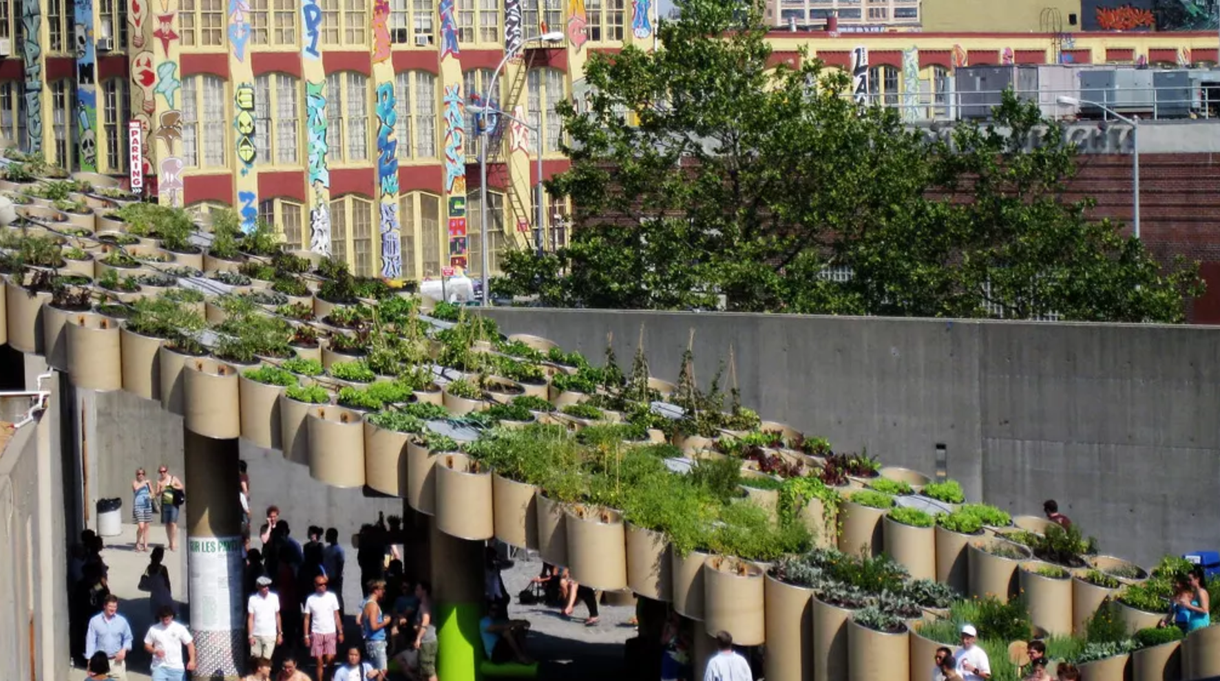 Public Farm One by Work Architecture Company is an urban farming project displayed in New York. Picture: XmasCarol/Flickr