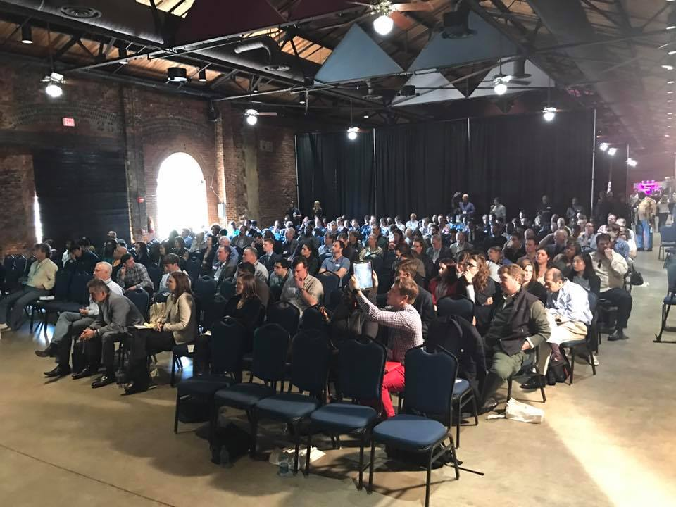 A photo of the crowd at the inaugural Aglanta Conference in 2017