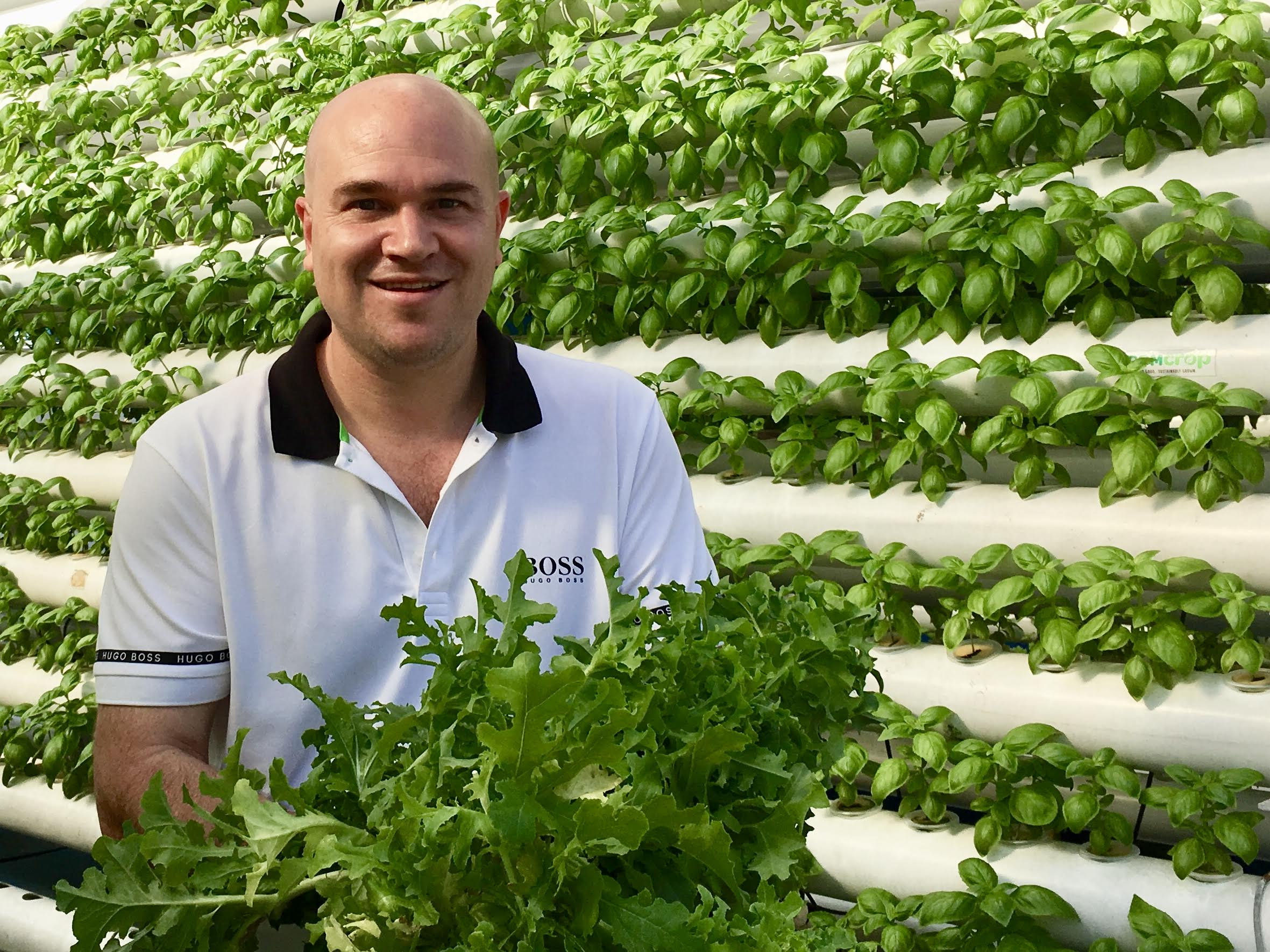 ComCrop's CEO Peter Barber