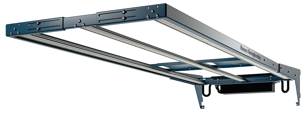 The new RAZR Series from Fluence offers modular and scalable lighting for the world's largest and densest vertical farms.