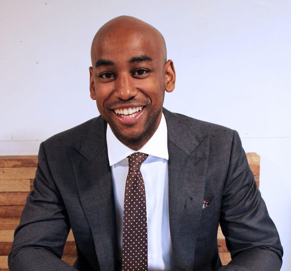 Jehiel Oliver, Founder of Hello Tractor. (PHOTO: HELLO TRACTOR)
