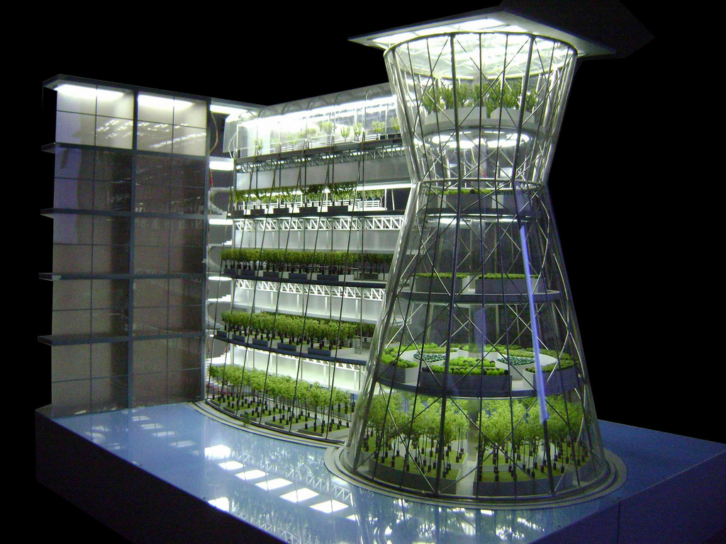Clepsydra Vertical Farm