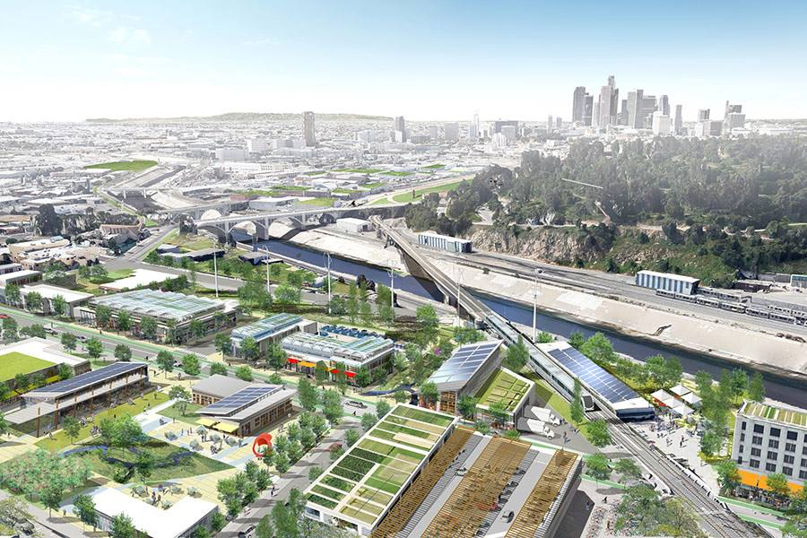 LA River Urban Farming Complex