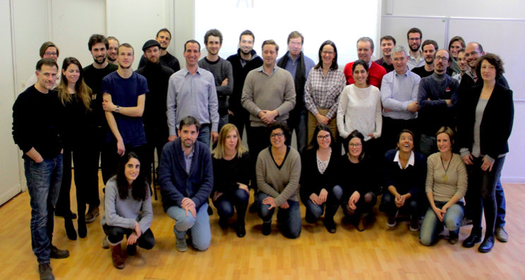 Members of the french urban agriculture association:  AFAUP .