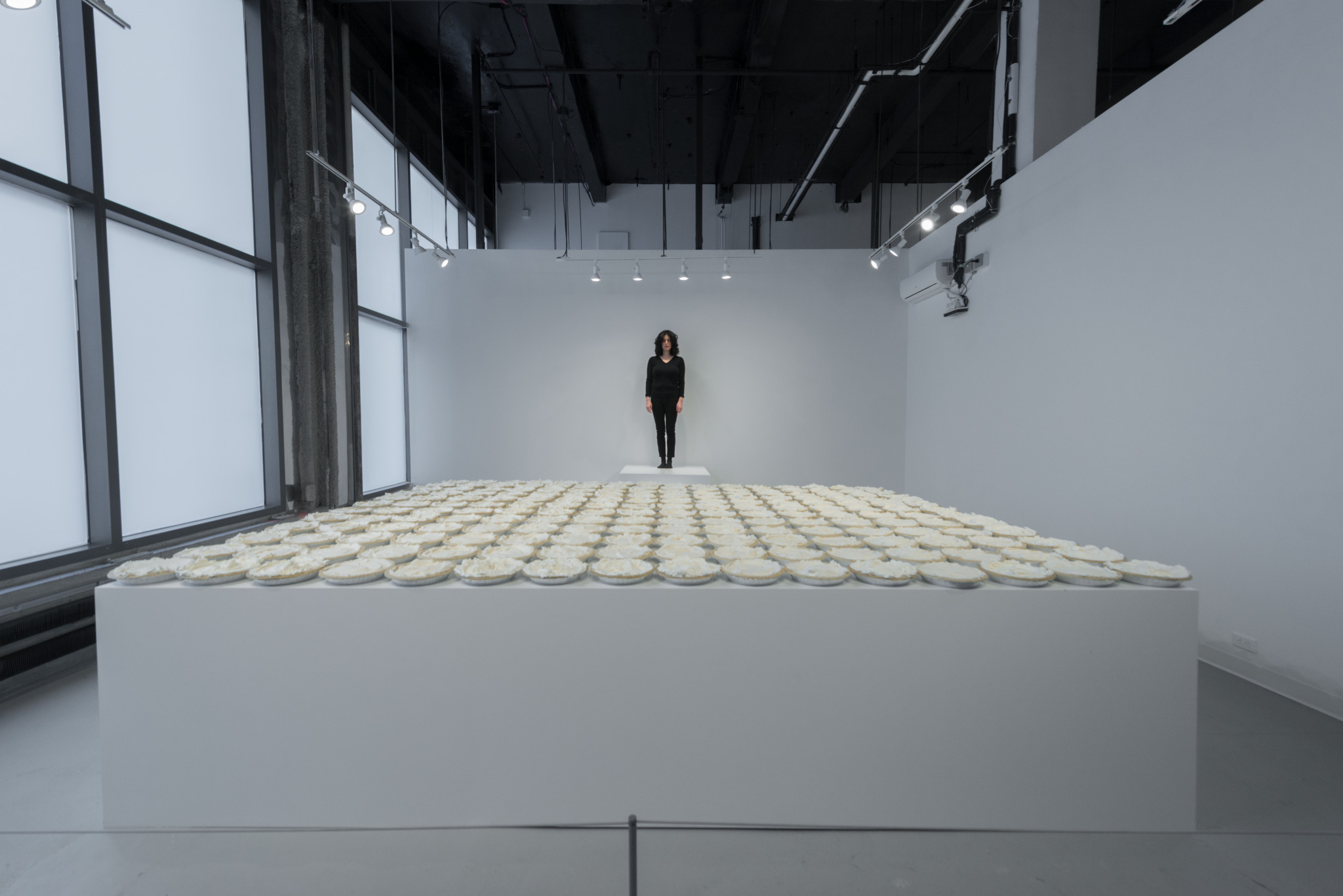 Consent , 2018, participatory performance, Meredith Rosen Gallery, New York, NY