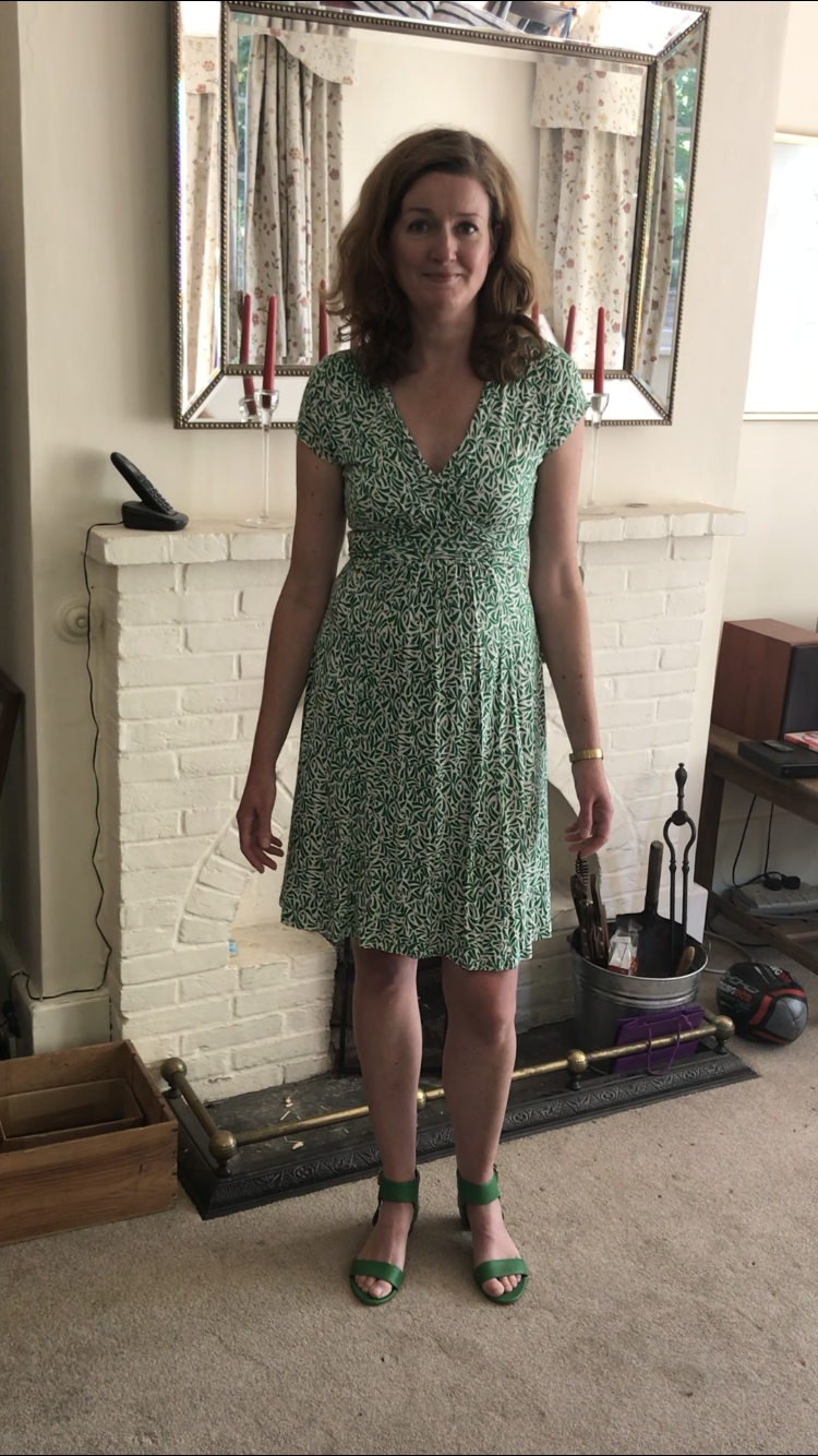 The ankle strap trick! - If your skirt is shorter than you would like, wearing a shoe with an ankle strap can help balance out the legs with the length of the skirt