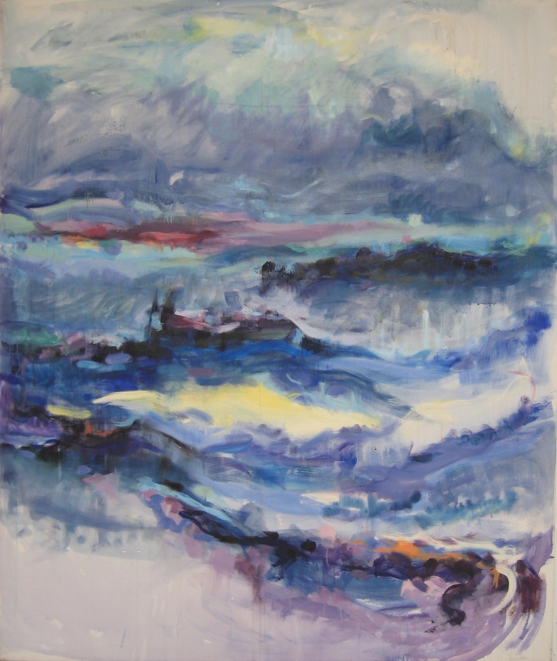 Del mare e Cielo, 60 X 72, oil on canvas, Kristin Barton 1998.JPG