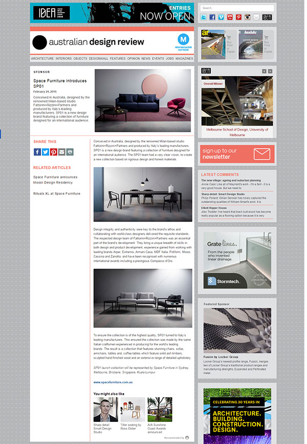 Australian Design Review (AU), February 2016