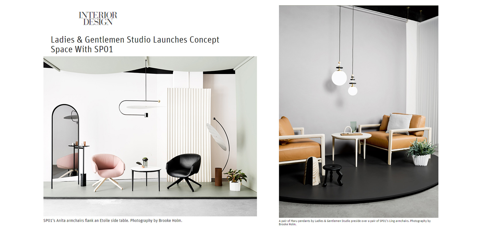 Interior Design (US), May 2017,  read the story here.