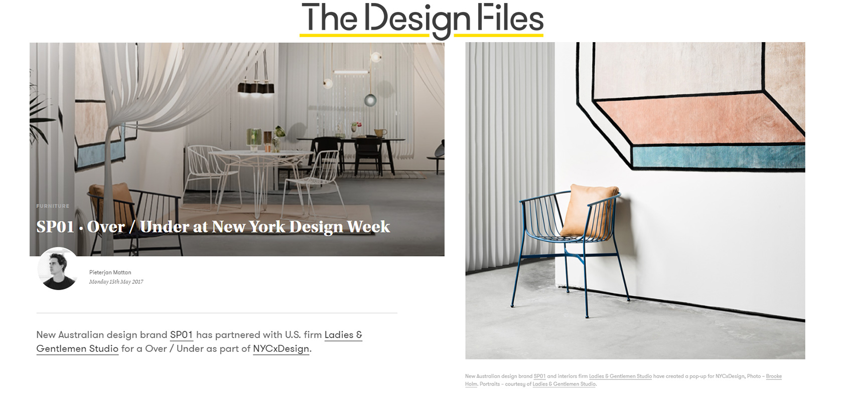 The Design Files (AU), May 2017,  read the story here.