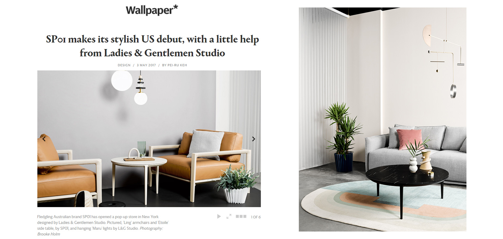 Wallpaper (UK), May 2017,  read the story here.