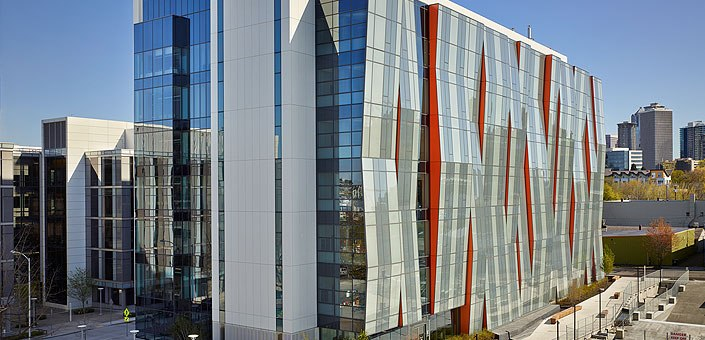 UW Medicine E Building: home of the Immunology Department